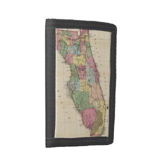 Vintage Map of Florida (1870) Trifold Wallet