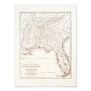 Vintage Alabama Posters & Photo Prints | Zazzle