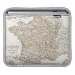 Vintage Map of France (1850) iPad Sleeve