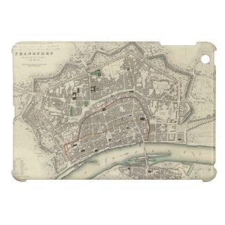 Vintage Map of Frankfurt Germany (1837) iPad Mini Case