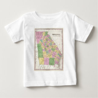 Vintage Map of Georgia (1827) Baby T-Shirt