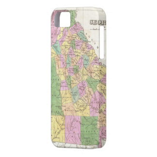 Vintage Map of Georgia (1827) iPhone SE/5/5s Case
