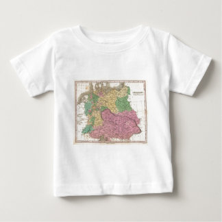 Vintage Map of Germany (1827) Baby T-Shirt