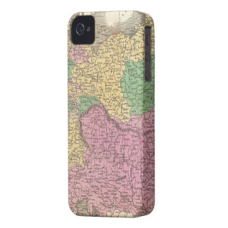 Vintage Map of Germany (1827) iPhone 4 Covers
