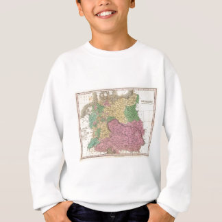 Vintage Map of Germany (1827) Sweatshirt