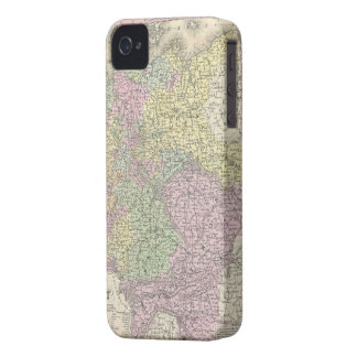 Vintage Map of Germany (1853) iPhone 4 Case-Mate Cases