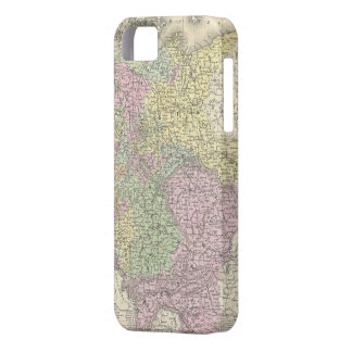 Vintage Map of Germany (1853) iPhone 5 Case