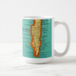 Vintage Map of GIBRALTAR Mug