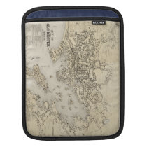 Vintage Map of Gloucester Massachusetts (1873) Sleeve For iPads
