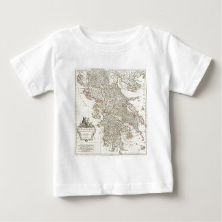 Vintage Map of Greece (1794) Tee Shirt