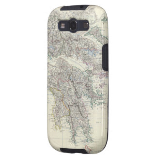 Vintage Map of Greece (1861) Samsung Galaxy S3 Covers