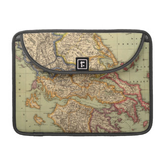 Vintage Map of Greece 1903 Sleeves For MacBook Pro