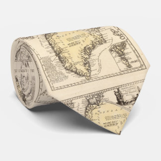Vintage Map of Greenland (1791) Tie