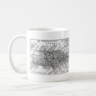 Vintage Map of Haiti (1911) Coffee Mug