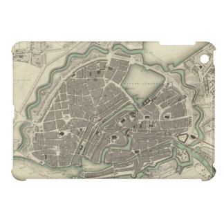 Vintage Map of Hamburg Germany (1841) Cover For The iPad Mini