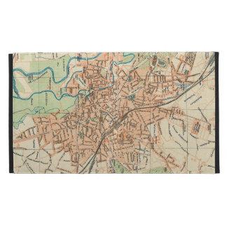 Vintage Map of Hanover Germany (1895) iPad Folio Case