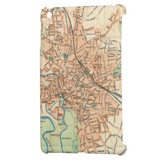 Vintage Map of Hanover Germany (1895) Cover For The iPad Mini