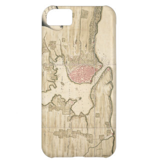 Vintage Map of Havana Cuba (1740) Cover For iPhone 5C