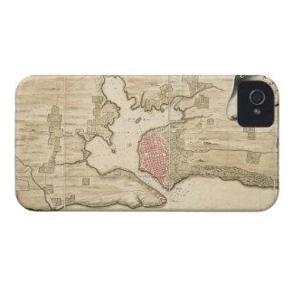 Vintage Map of Havana Cuba (1740) iPhone 4 Cases