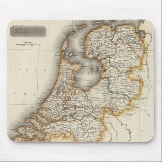 Vintage Map of Holland (1817) Mousepads