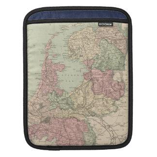 Vintage Map of Holland (1873) iPad Sleeve