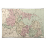 Vintage Map of Holland (1873) Place Mats