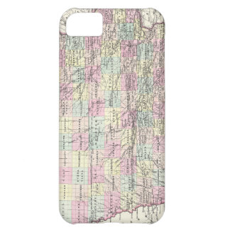 Vintage Map of Iowa (1855) Case For iPhone 5C