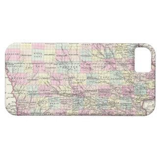Vintage Map of Iowa (1855) iPhone SE/5/5s Case