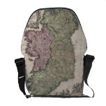 Vintage Map of Ireland (1716) Courier Bag