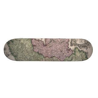 Vintage Map of Ireland 1716 Custom Skate Board