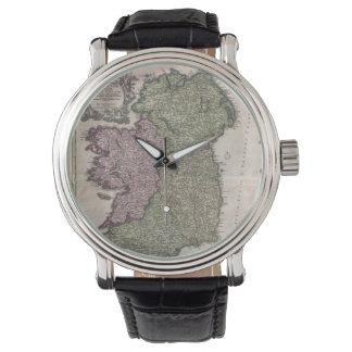 Vintage Map of Ireland (1716) Wrist Watches