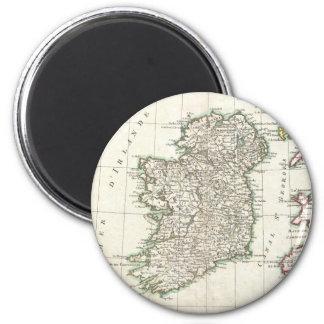 Vintage Map of Ireland (1771) 2 Inch Round Magnet