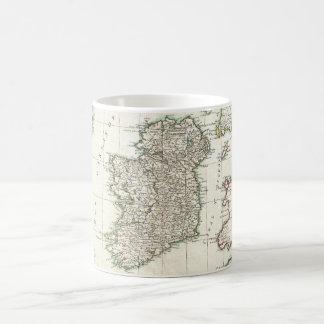 Vintage Map of Ireland (1771) Coffee Mug