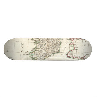 Vintage Map of Ireland (1771) Custom Skate Board