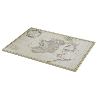 Vintage Map of Ireland (1771) Cutting Boards