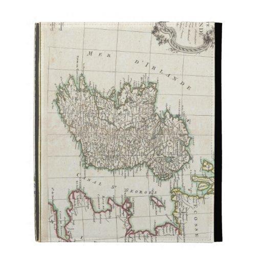 Vintage Map of Ireland (1771) iPad Case