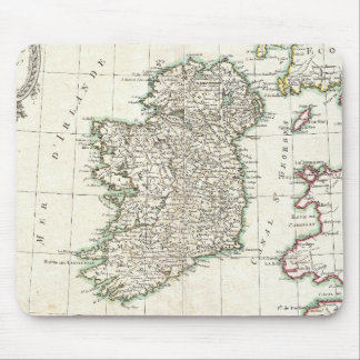 Vintage Map of Ireland (1771) Mouse Pad