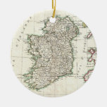 Vintage Map of Ireland (1771) Ornaments
