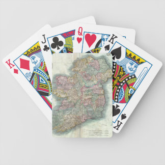 Vintage Map of Ireland (1799) Bicycle Playing Cards