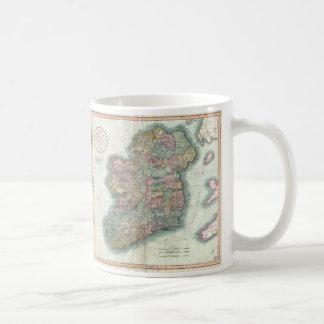 Vintage Map of Ireland (1799) Coffee Mug