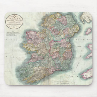 Vintage Map of Ireland (1799) Mouse Pad