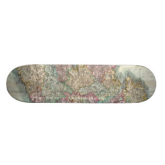 Vintage Map of Ireland 1799 Skate Deck