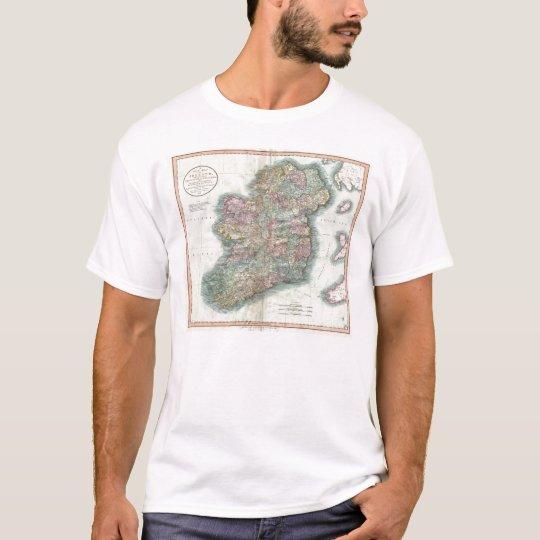 Vintage Map of Ireland (1799) T-Shirt