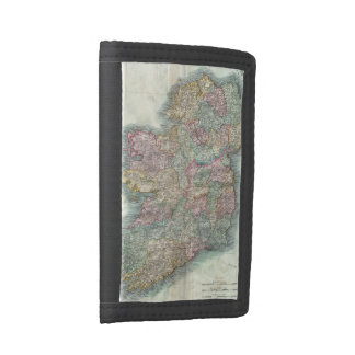 Vintage Map of Ireland (1799) Tri-fold Wallets