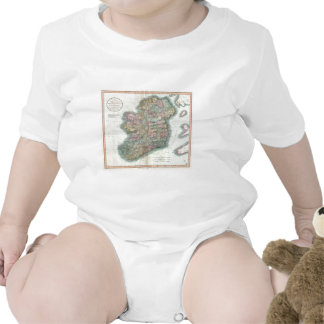 Vintage Map of Ireland (1799) Tshirts