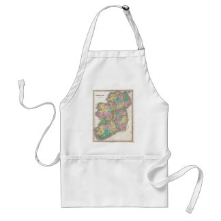 Vintage Map of Ireland (1827) Adult Apron