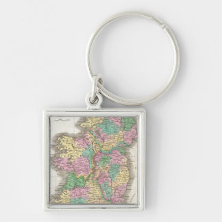 Vintage Map of Ireland (1827) Keychain