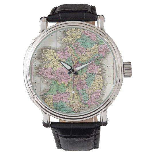 Vintage Map of Ireland (1827) Wristwatch