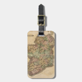 Vintage Map of Ireland (1831) Bag Tags