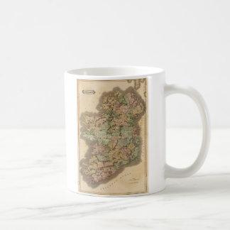 Vintage Map of Ireland (1831) Coffee Mug